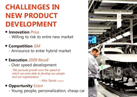 toyota products and services introducing new product and service to international