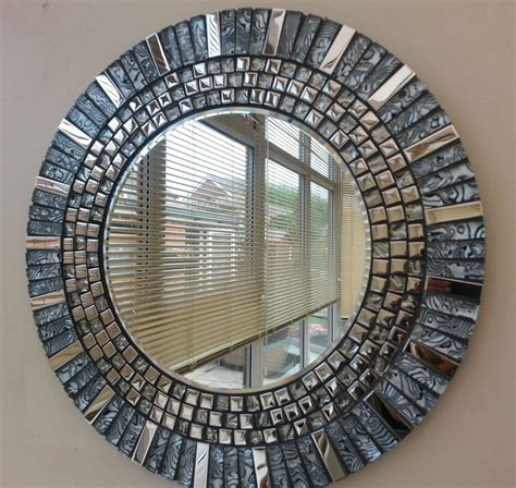 Handmade Mosaic Mirrors - 135 best images about mosaics with mirrors on