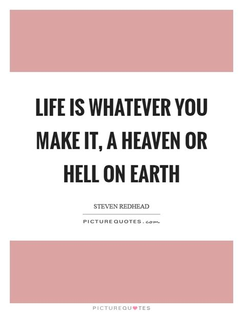 the easy action hell is living without you alice cooper life is whatever you make it a heaven or hell on earth