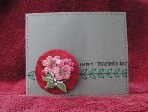 Handmade Teachers Day Card - my handmade cards s day cards