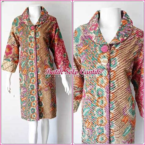 Dress Batik Sinaran Sogan dress batik model cacah iris terbaru baju kerja batik