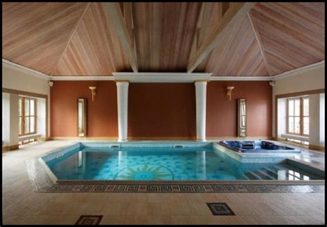 enclosed pool designs enclosed swimming pool with rustic ceiling