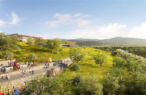 Landscape Architecture Olin World S Largest Green Roof Is Unprecedented 30 Acres Self