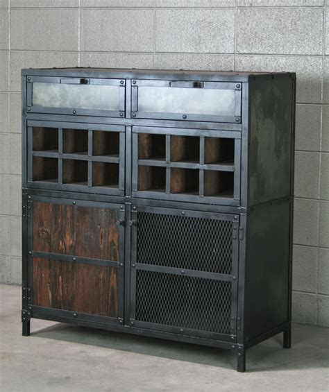 industrial looking cabinet combine 9 industrial furniture modern industrial
