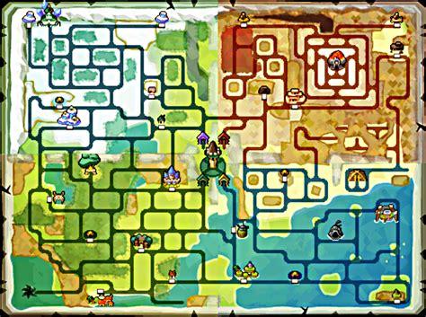 legend of zelda wind waker map spirit tracks overworld map