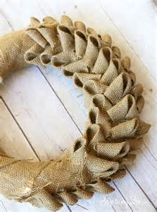how to make a burlap wreath with two colors burlap wreath tutorial skip to my lou