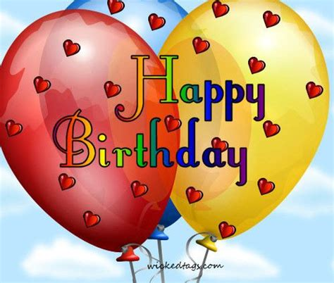 free birthday free happy birthday balloon clip clipartix