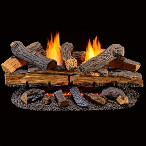 duluth forge ventless dual fuel gas log set 30 in