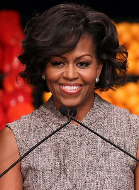 michelle obama without her wig michelle obama without wig photo michelle obama hair or