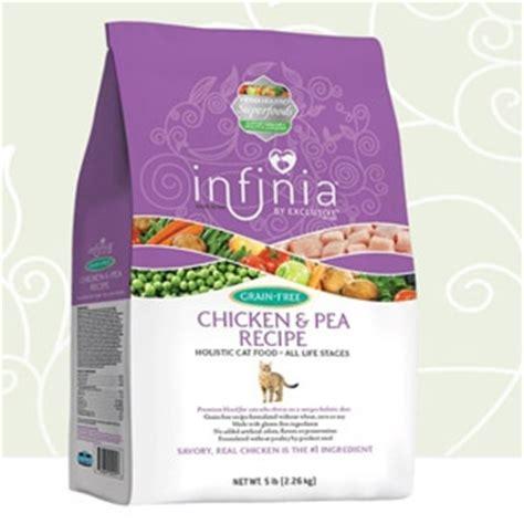 infinia food infinia 174 grain free chicken pea holistic cat food garoppo s feed and pet supply