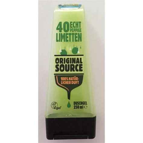 Parfum Original Source original source 40 echt peppige limetten duschgel
