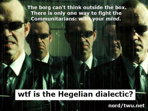 Hegel Memes - the community communitarian trap peter hofschroer