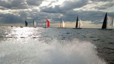 j boats racing in newport ron holland design