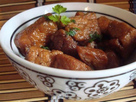 cuisines et vins de recettes porc au caramel cuisine et vins de