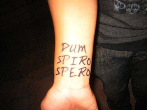 dum spiro spero tattoo dum spiro spero 7 19 07