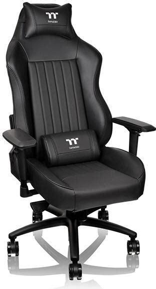 Thermaltake Gt Comfort 500 Gaming Chair thermaltake x comfort tt premium edition xc500 gaming chair black black computer alliance