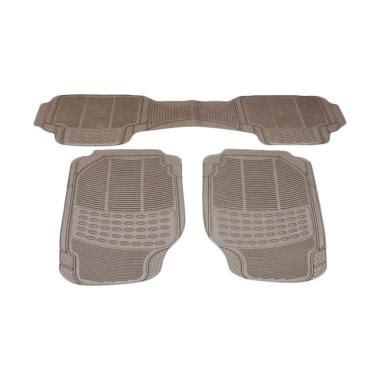 Murano Karpet Mobil Durable 3pcs Karet Pvc Universal Gray jual durable comfortable universal pvc karpet mobil for toyota previa beige 3 pcs