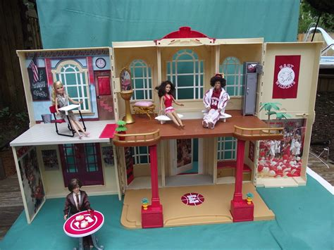 Barbie High School Building Doll House Music Sounds 4