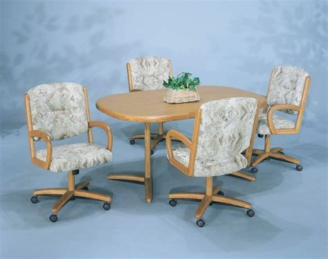 kitchen table chairs with casters kitchen dinette sets images 37 dining table
