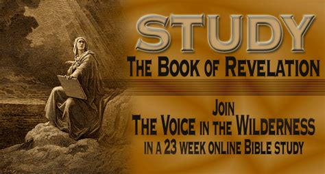 a voice in the wilderness the ministry of the baptist books study revelation