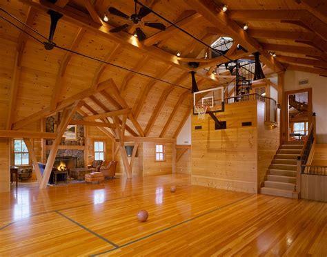 Superb Indoor Basketball Court method Boston Farmhouse