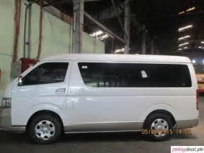 Budget Car Rental Manila Toyota Grandia