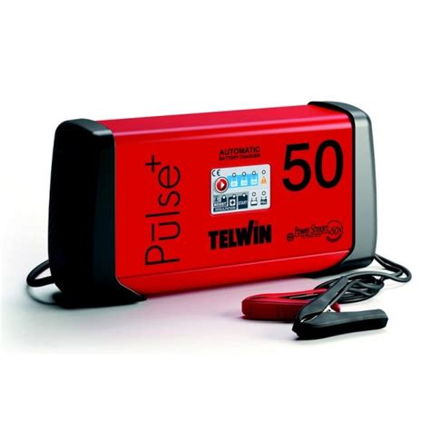 Telwin Telwin Pulse 50 Charger Aki Multifungsi Starter Trafo Mobil chargeur de batterie telwin pulse 50 sideris outillage