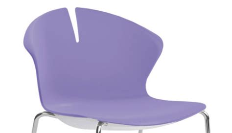 Snowball Box Violet Laz2 quot redhot quot visitor chair