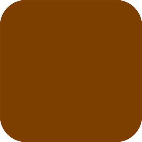 brown clip brown rounded square clip at clker vector clip