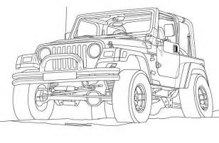 17 best images about jeep coloring book on