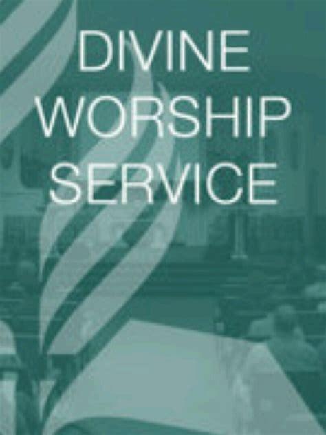 live church service