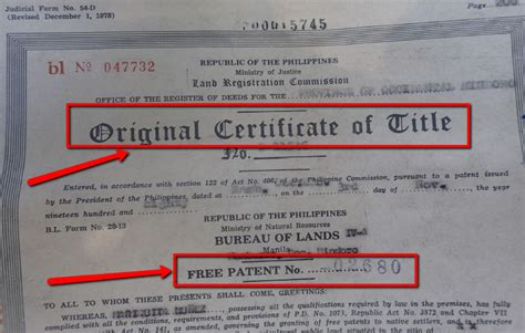 Title Application Meaning Where To Verify Authenticity Of Property Titles Ppe Ph