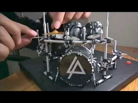 How To Make A Paper Drum Set - rob bourdon s linkin park drum set paper model
