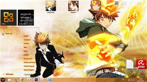 download theme windows 7 katekyo hitman reborn theme win 7 katekyo hitman reborn tsunayoshi sawada