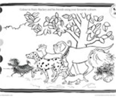 hairy maclary coloring pages free colouring pictures and activity pages kiwi families