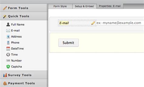 form design tool online how to use jotform s form design tool