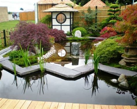 How To Make Backyard Beautiful by Japanese Gardens Pond Uk