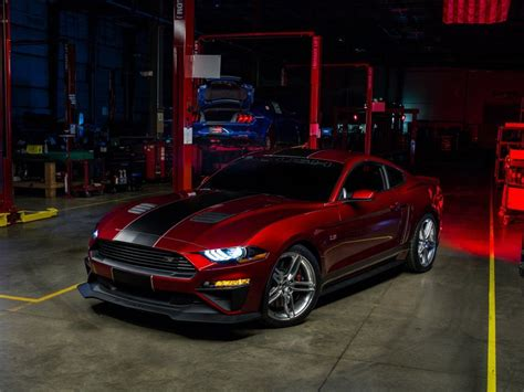 2018 Mustang Side View by 2018 Ford Mustang Roush Rs2 Side View Wallpaper