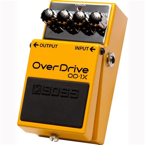 Overdrive Od 1x od 1x overdrive pedal