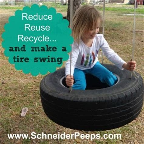 how to make tire swing make a tire swing for some frugal family fun schneiderpeeps
