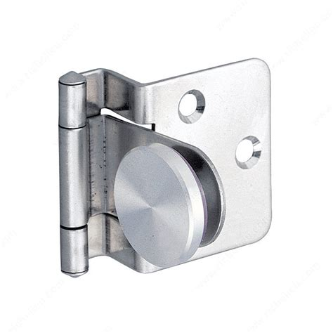 Surface Mounted Hinge For Half Overlay Glass Doors For Glass Cabinet Door Hinges