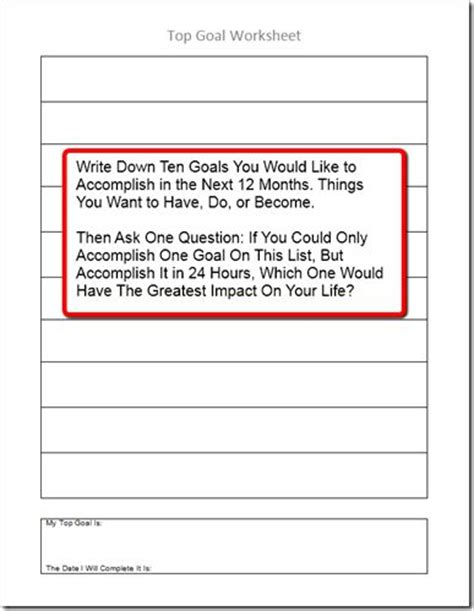 Worksheet Brian Tracy Goals Worksheet Hunterhq Free Printables Worksheets For Students Brian Tracy Goal Setting Template