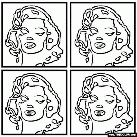 printable pop art coloring pages andy warhol coloring sheets high quality coloring pages