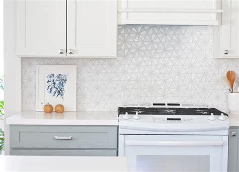 Hexagon Tile Kitchen Backsplash | kitchen remodel 10 lessons centsational style