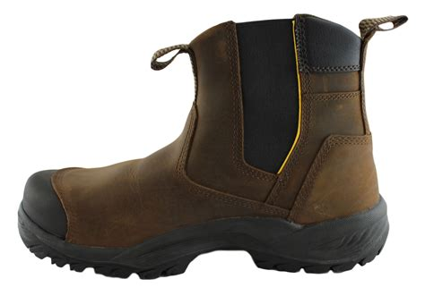 Caterpillar Solid Boots Safety caterpillar cat propane mens steel toe safety boots brand house direct