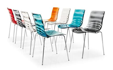 sedie plexiglass calligaris dining chairs furniture l eau buy dining chairs and