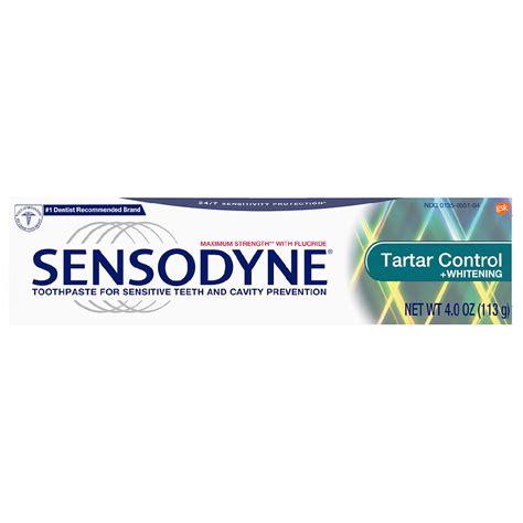 sensodyne tartar control whitening toothpaste