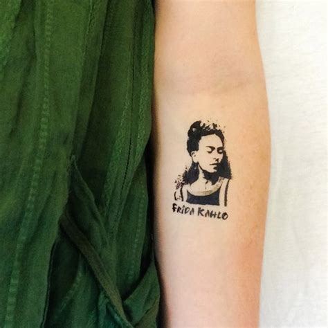 frida kahlo tattoos 2 frida kahlo temporary tattoos geektat