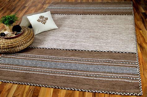 teppiche natur natur teppich kelim navarro beige braun teppiche nepal
