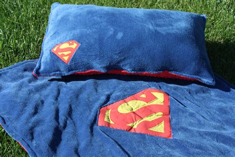 Pillows And Throws by Superman Blanket And Pillow Set